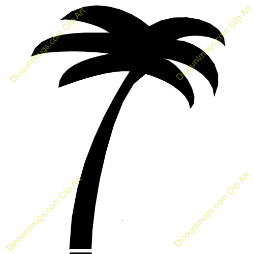 500x500 Palm Tree Clipart Simple