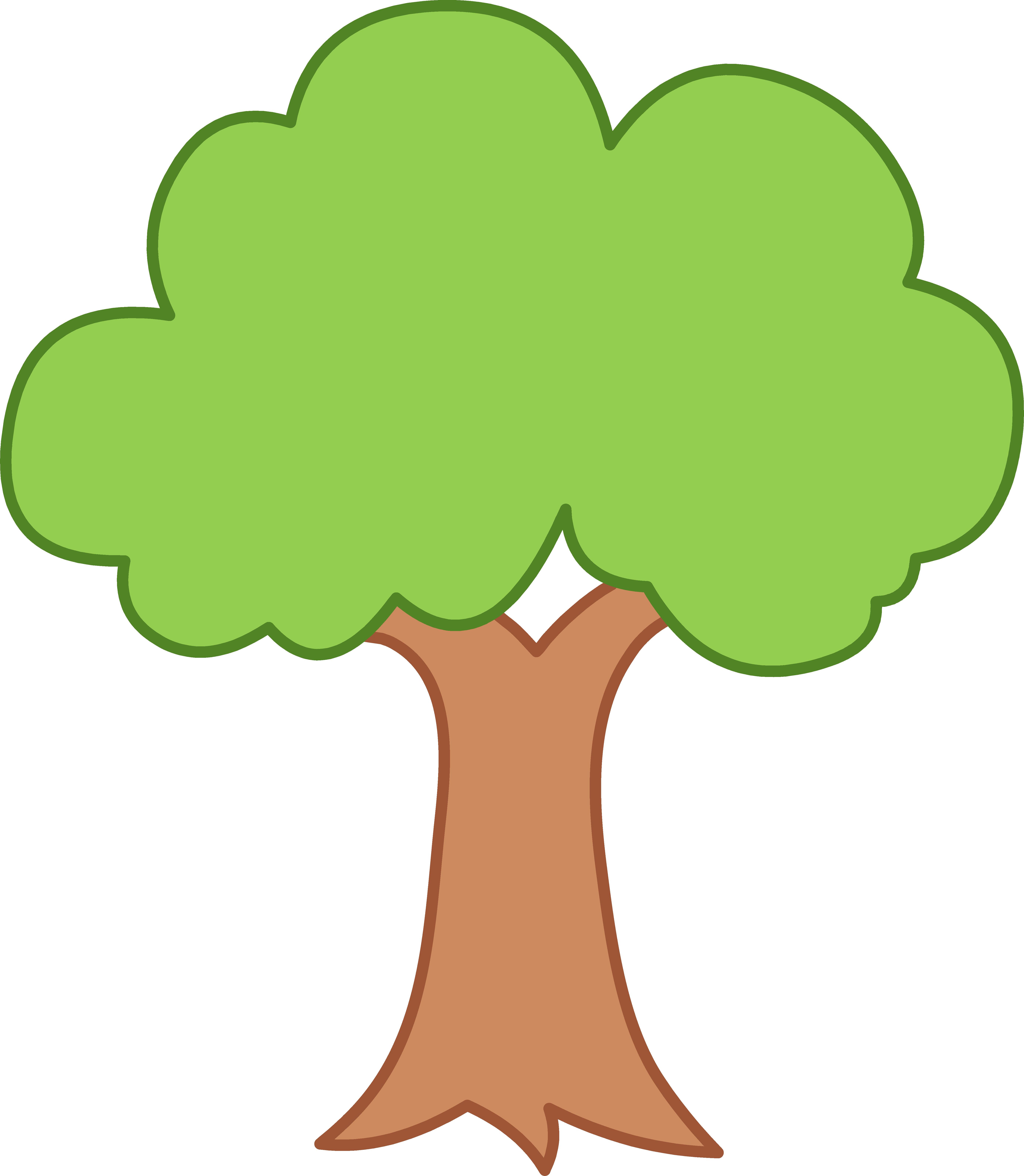 5548x6372 Simple Green Tree Design