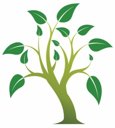 381x425 Simple Tree Vector