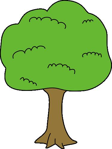 375x500 Simple Tree Clip Art