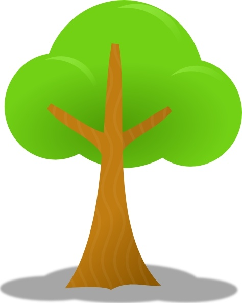 474x593 Simple Tree Clip Art Free Vector In Open Office Drawing Svg ( Svg