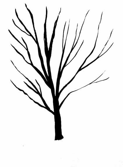 422x576 Drawn Tree Simple