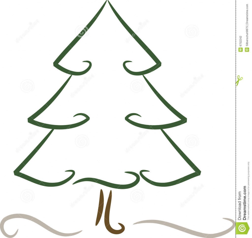 1024x967 Simple Christmas Drawings Christmas Tree Drawing Ideas For Kids