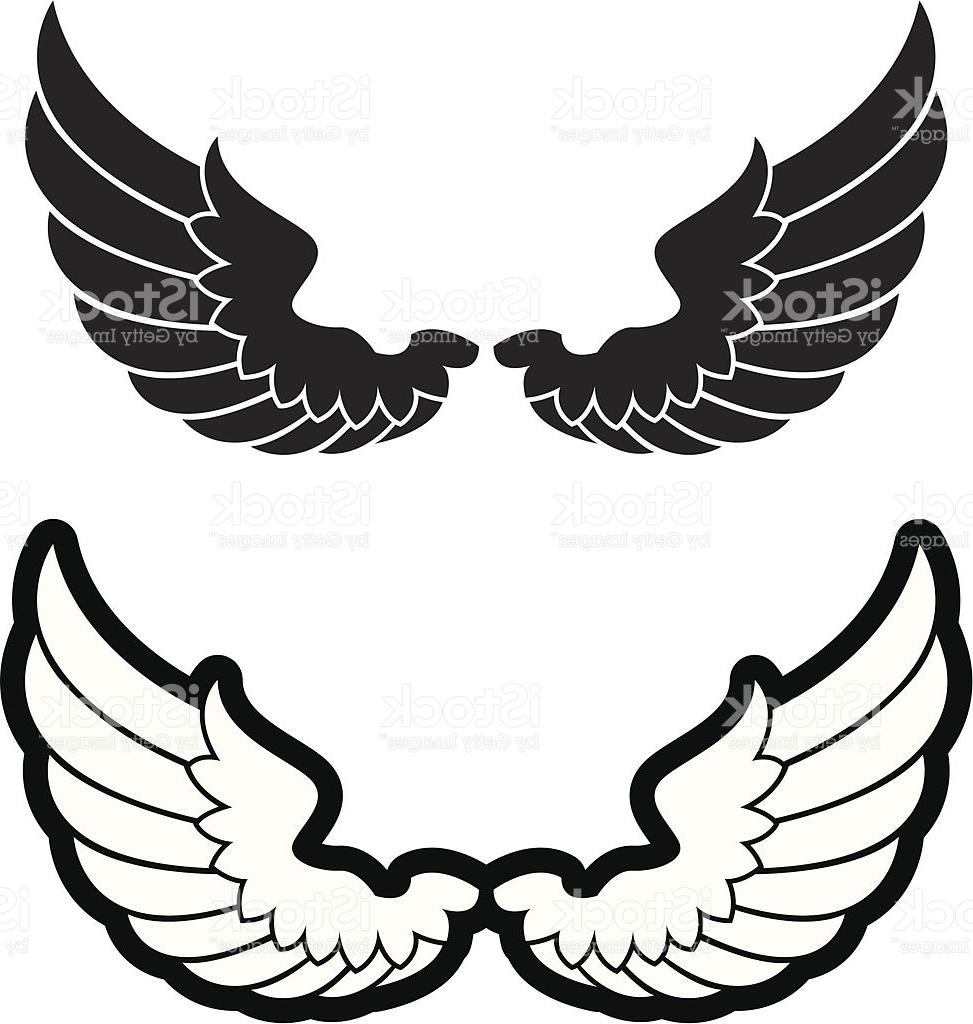 973x1024 Simple Bird Wings Vector
