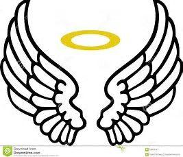 267x229 The Best Angel Wings Clip Art Ideas Wings Logo