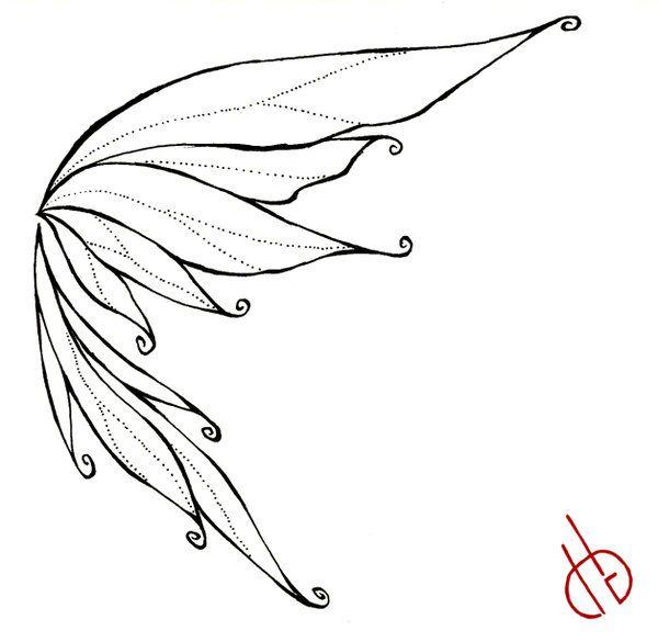 600x585 Best Fairy Wings Drawing Ideas Fairy Drawings