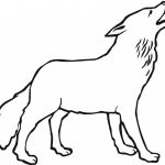 150x150 Wolf Drawings For Kids Coloring Page Cool Simple Wolf Drawing