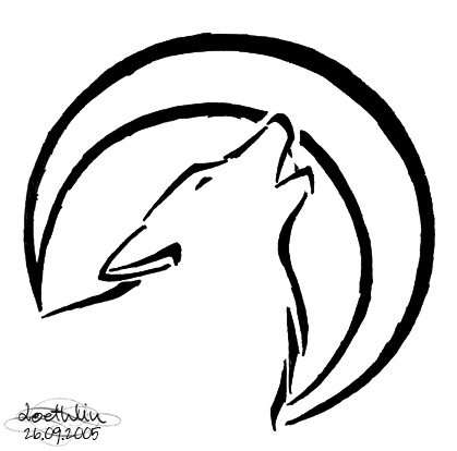 4b1ce9ffdf043 419x414 Wolf Tattoo. Wolf Clan Tat Idea. Definately Getting This!! Im