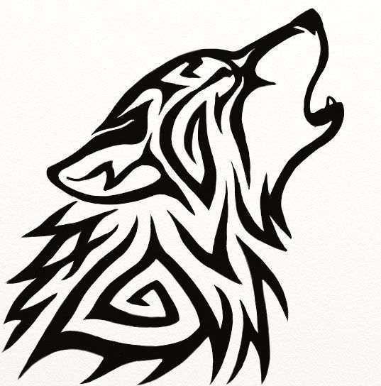537x544 Best Simple Wolf Drawing Ideas Simple Wolf