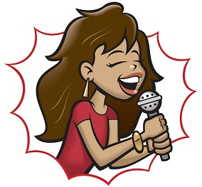284x263 Free Singers Clipart
