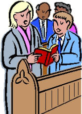 166x230 Church Singers Clip Art Cliparts