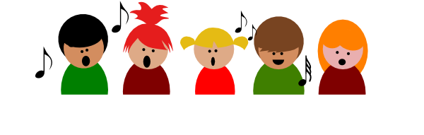 600x191 Singing Singers Clip Art Clipart Gallery