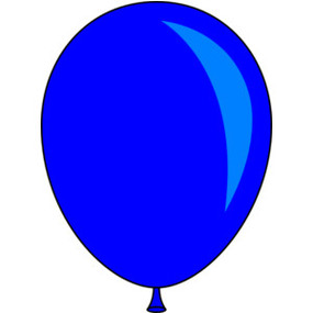 Balloon single. Clipart free download best