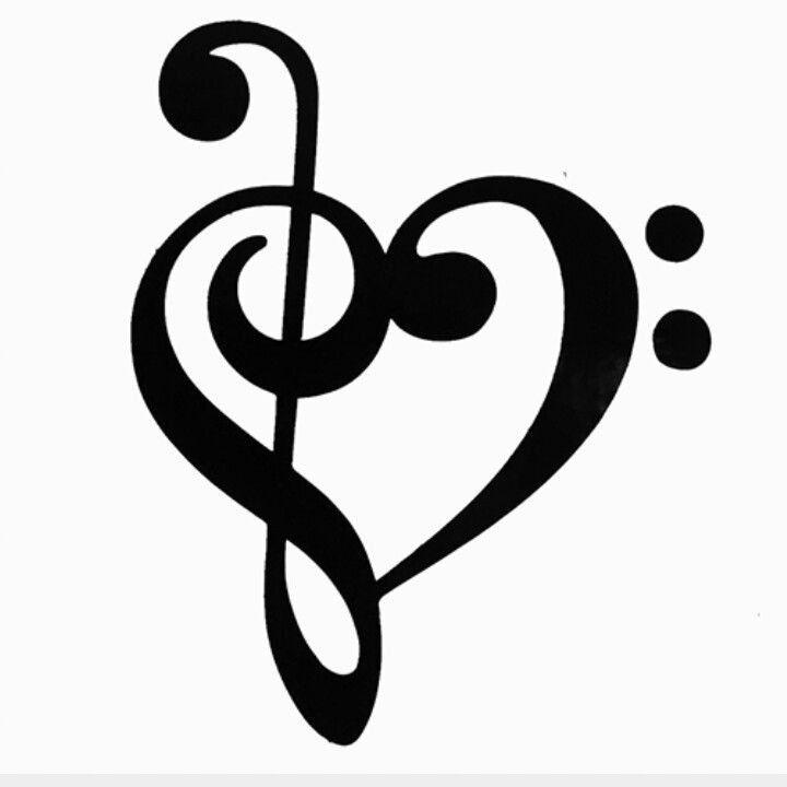 Single Music Notes Clipart