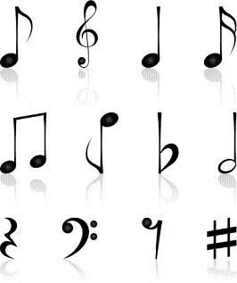 266x317 Music Notes Symbols And Meanings Clipart Panda