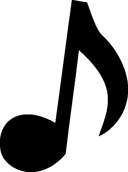 444x595 Musical Note 2 Clip Art