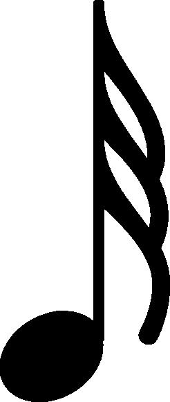 246x581 Musical Note Clip Art