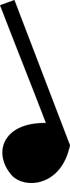 228x592 Music Notes Symbols Clip Art Clipart Panda