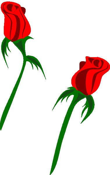 378x600 Red Rose Buds Clip Art