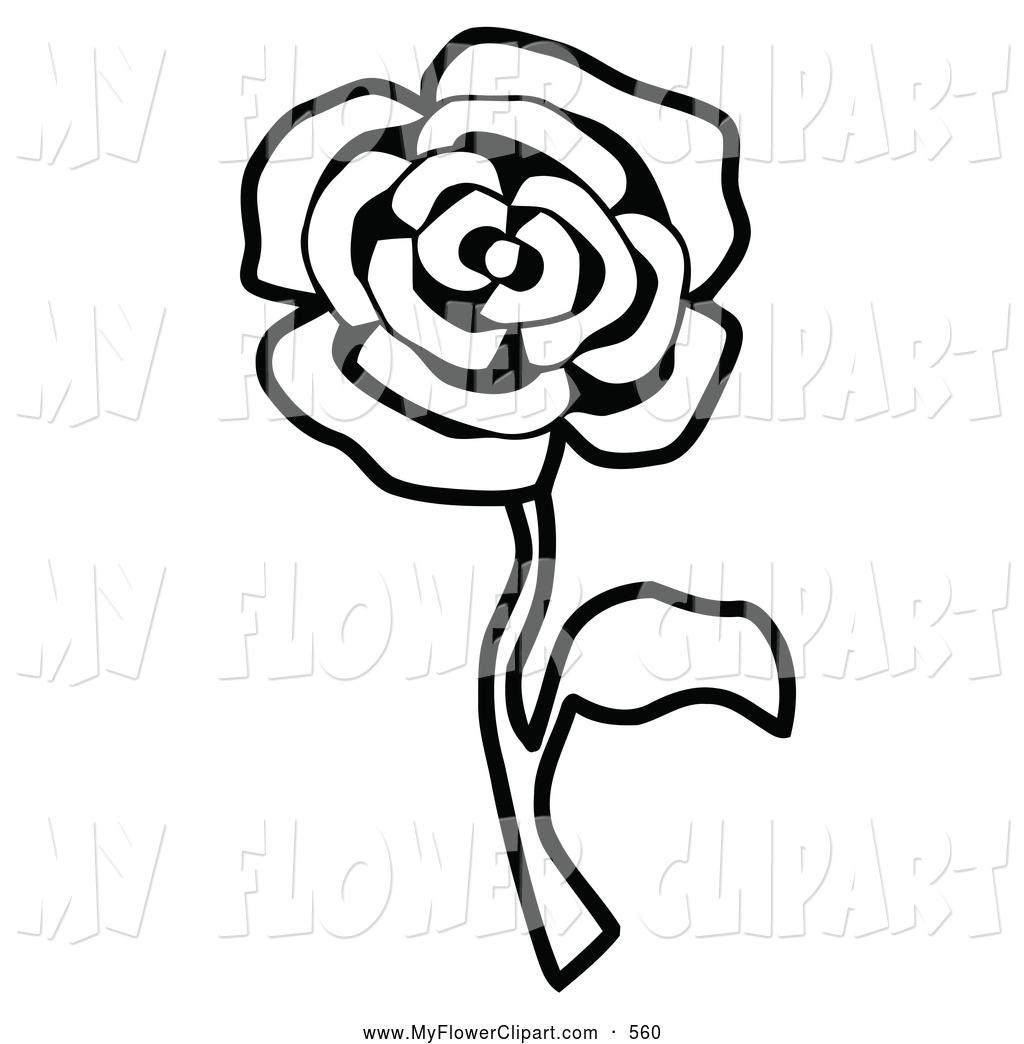 1024x1044 Clip Art Of A Single Rose