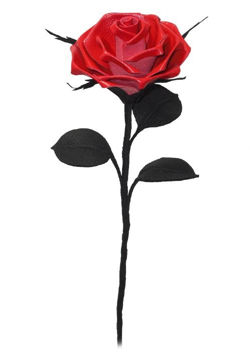 498x710 Long Stem Rose Tattoo Free Download Clip Art Free Clip Art