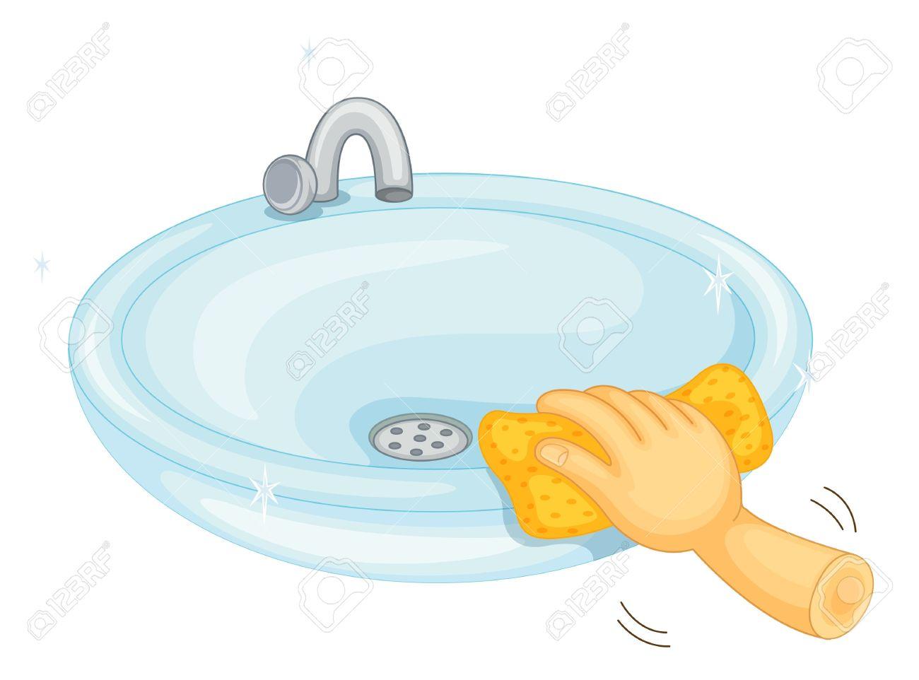 1300x962 Bathroom clipart basin