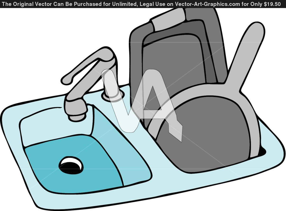 1205x890 Clip Art Cleaning Kitchen Sink. Cleaning Tv Clip Art, Cleaning