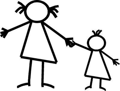 Sister Clipart Black And White | Free download on ClipArtMag