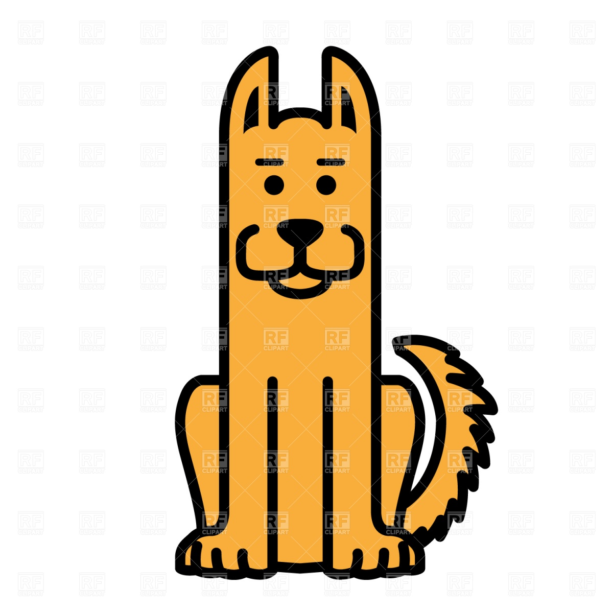 1200x1200 Dog Sitting Clipart Many Interesting Cliparts