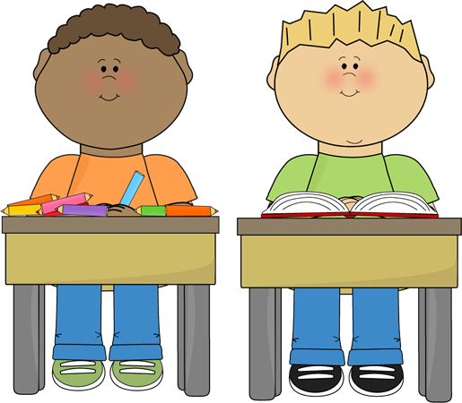 515x450 Student Sitting Clipart
