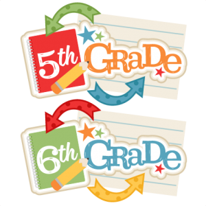300x300 Free Daily Cut File} Fifth Amp Sixth Grade Titles