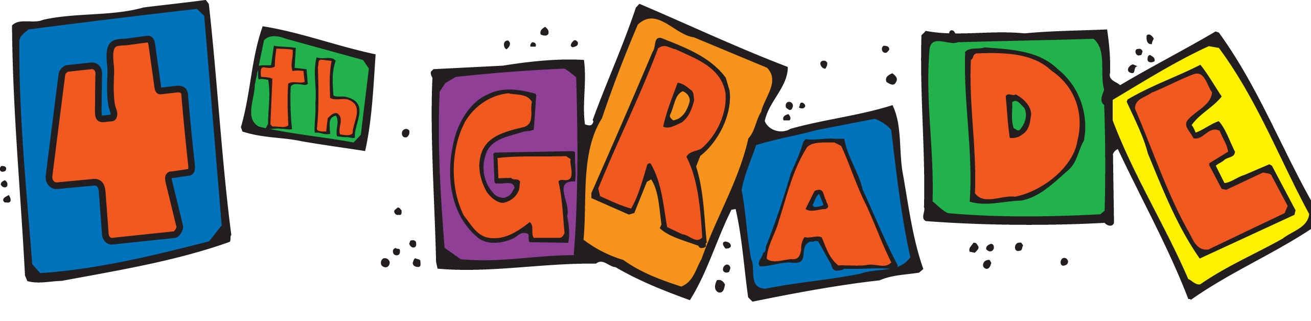 2565x628 4th Grade Cliparts