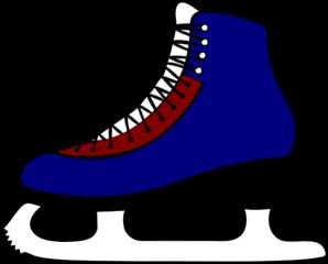 298x240 Ice Skating Clip Art