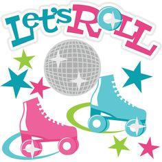 236x236 Neon Clipart Roller Skate