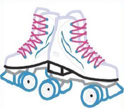 247x217 Birthday Clipart Roller Skate