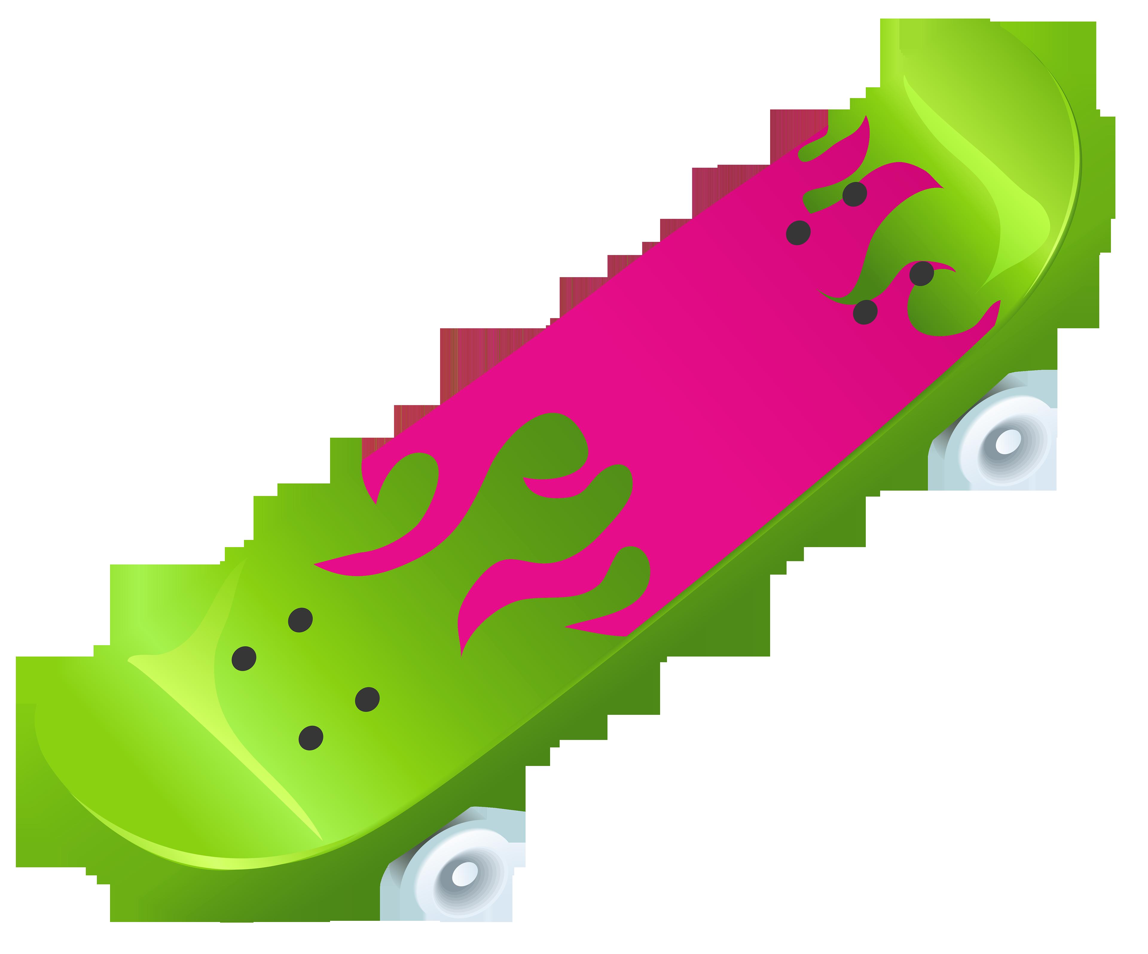 3840x3191 Skateboard clip art download