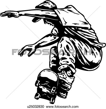 450x461 Drawn skateboard clip art
