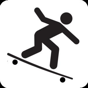 300x300 Longboarding Clip Art