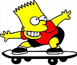 253x214 Top 74 Skateboarding Clip Art