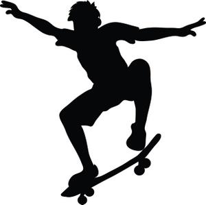 300x299 Skateboarding Clip Art Clipart Panda