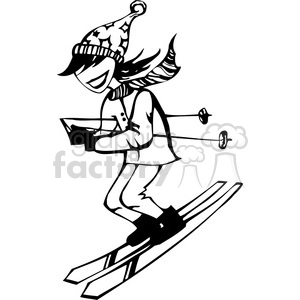 Skateboard Clipart Black And White