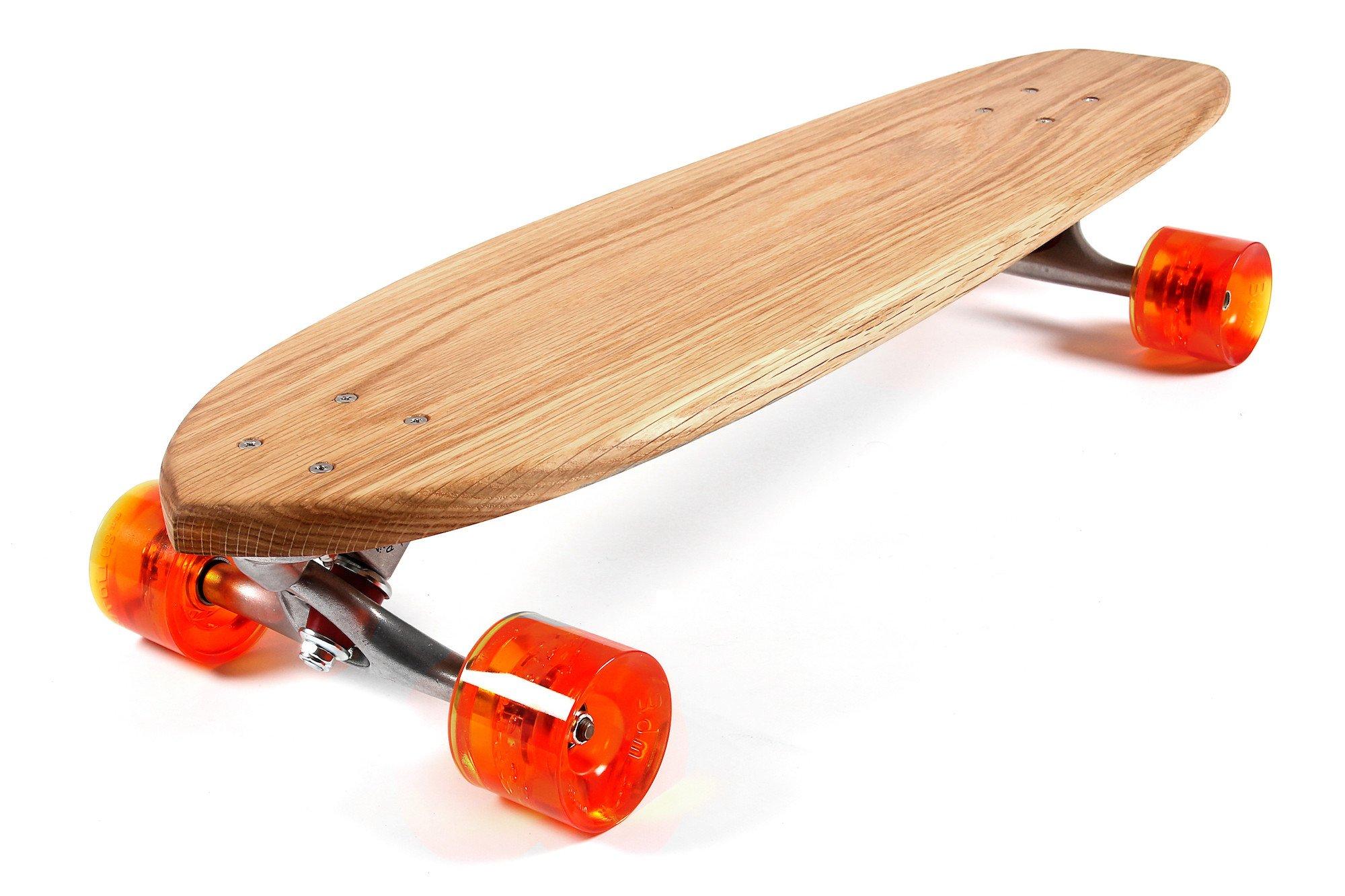 2000x1333 Nude Cruiser Longboard Skateboard In Solid Oak Nudie Boards