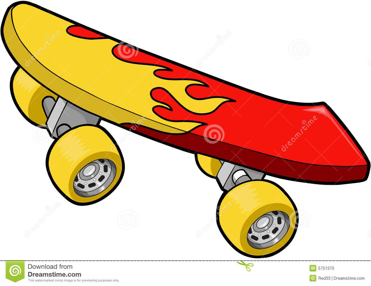 1300x1003 Skateboard Clipart