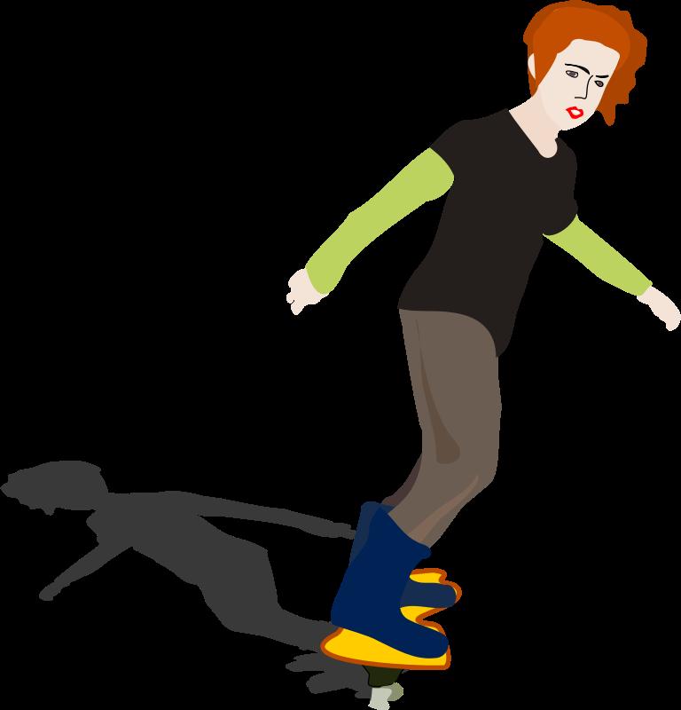 768x800 Free To Use Amp Public Domain Skateboarding Clip Art