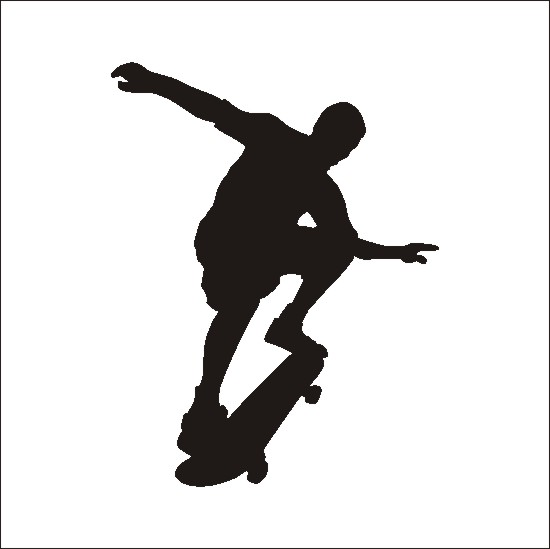 550x549 Skateboard Clip Art Download 4