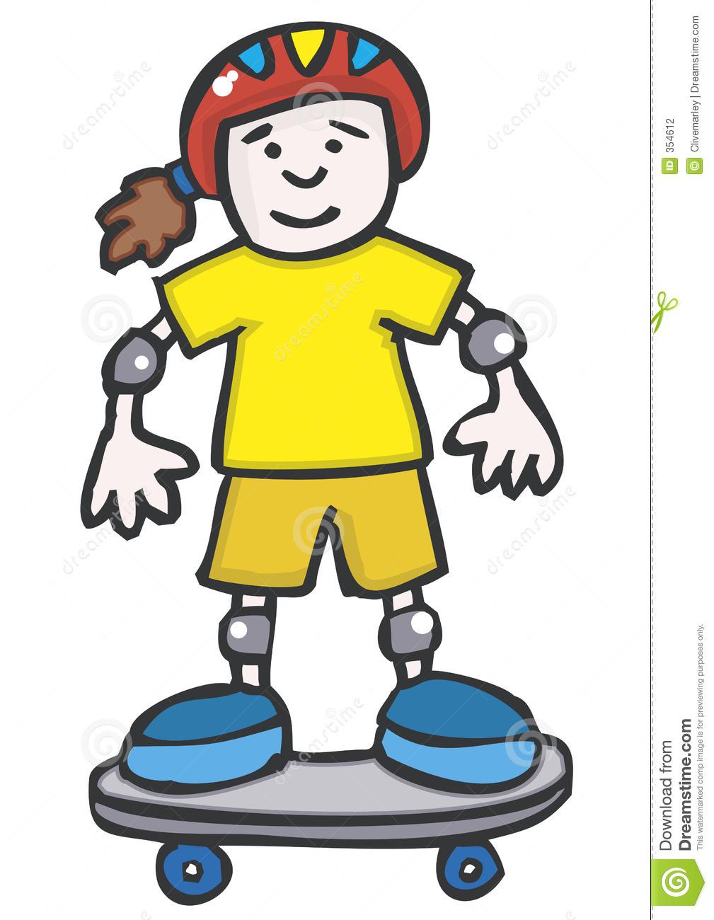 1009x1300 Skateboard Clipart Yellow
