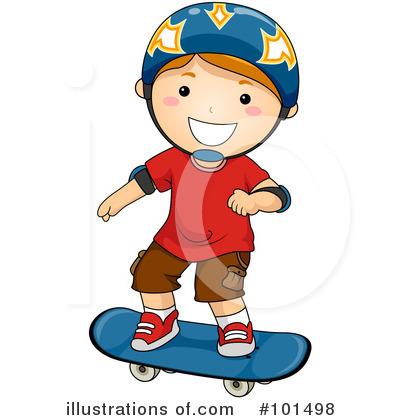 400x420 Skateboarding Clipart