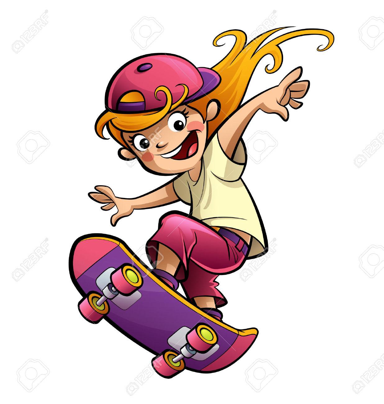 1237x1300 Top 74 Skateboarding Clip Art