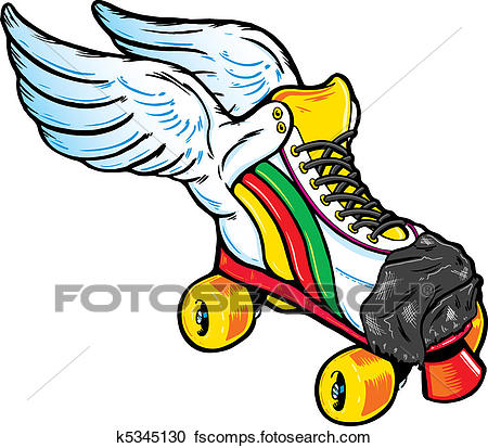 450x413 Roller Skates Clip Art And Illustration. 3,058 Roller Skates