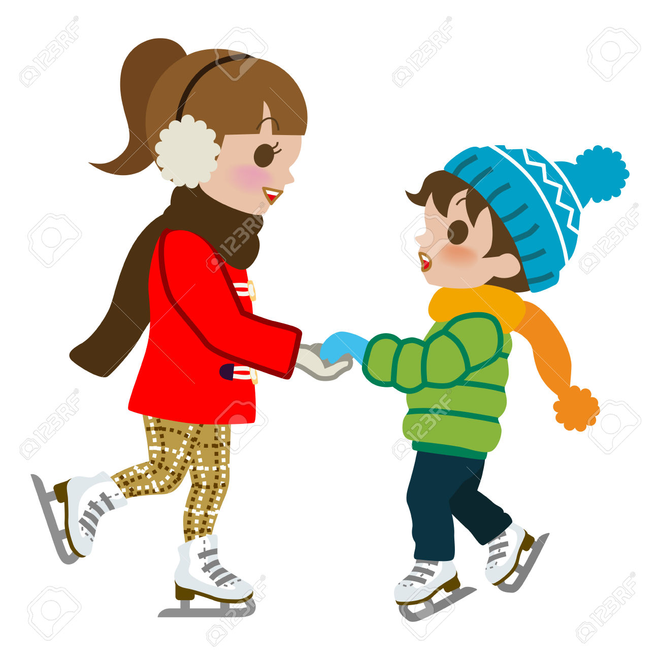1300x1300 Ice Skating Clipart Images